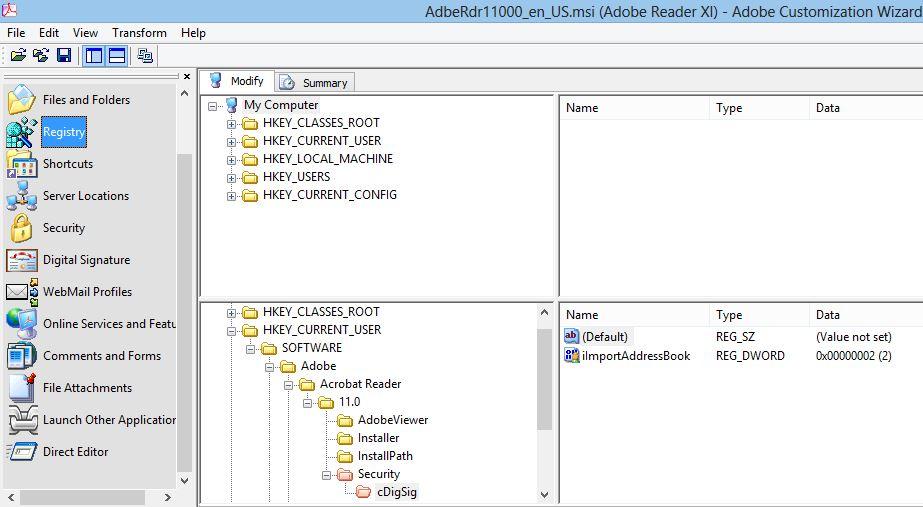 Adobe Reader 11 - First-launch Security Alert Pop-up - Kraft