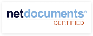 netdocuments certified
