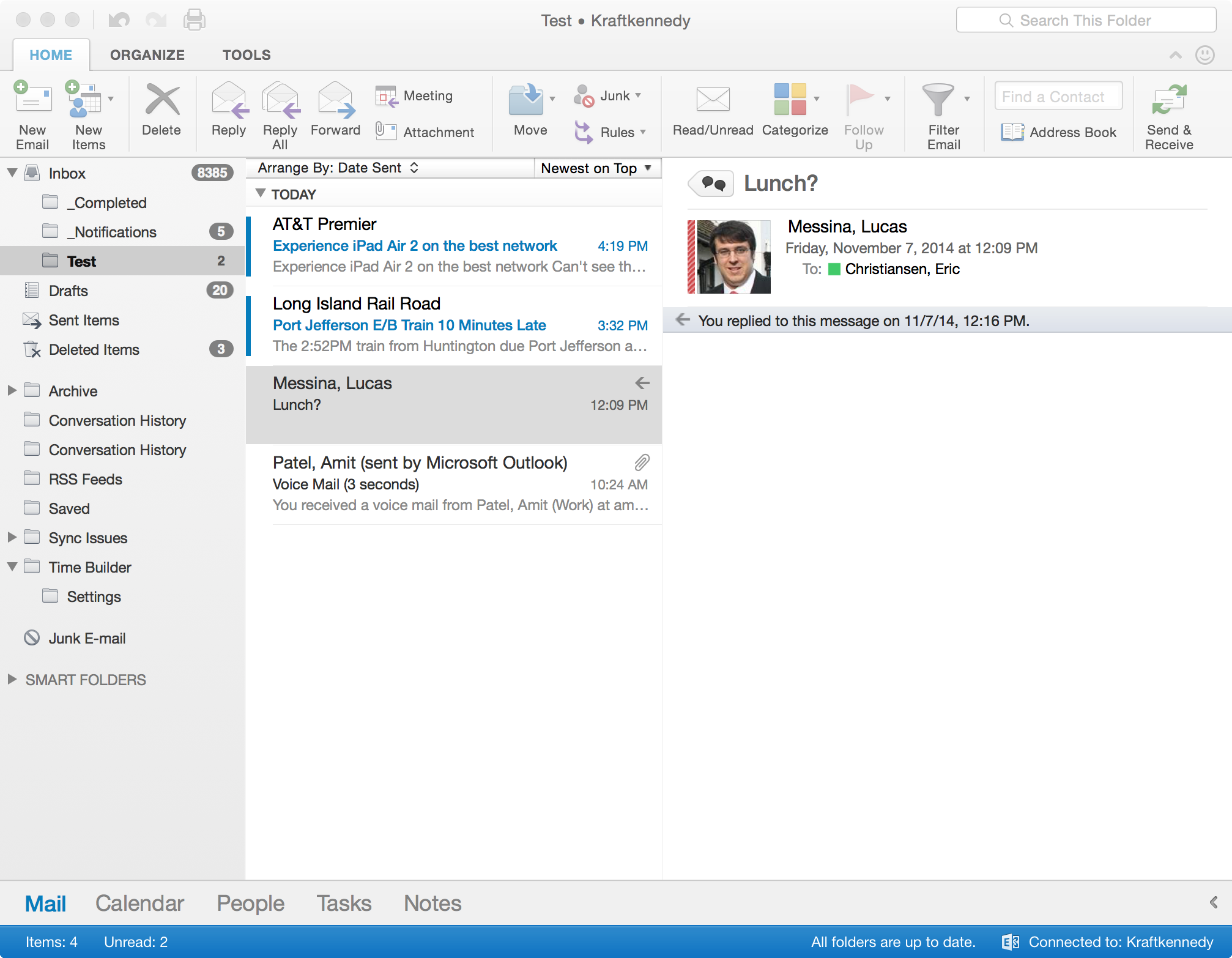 A Review of the New Outlook for Mac for Office 365 - Kraft Kennedy