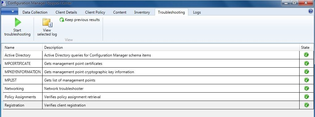 Configuration Manager Support Center - Kraft Kennedy