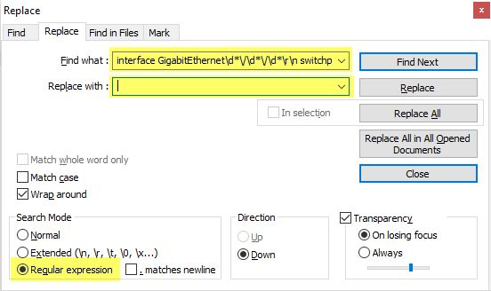 Useful Tools: Notepad++ and Regex to the Rescue - Kraft Kennedy