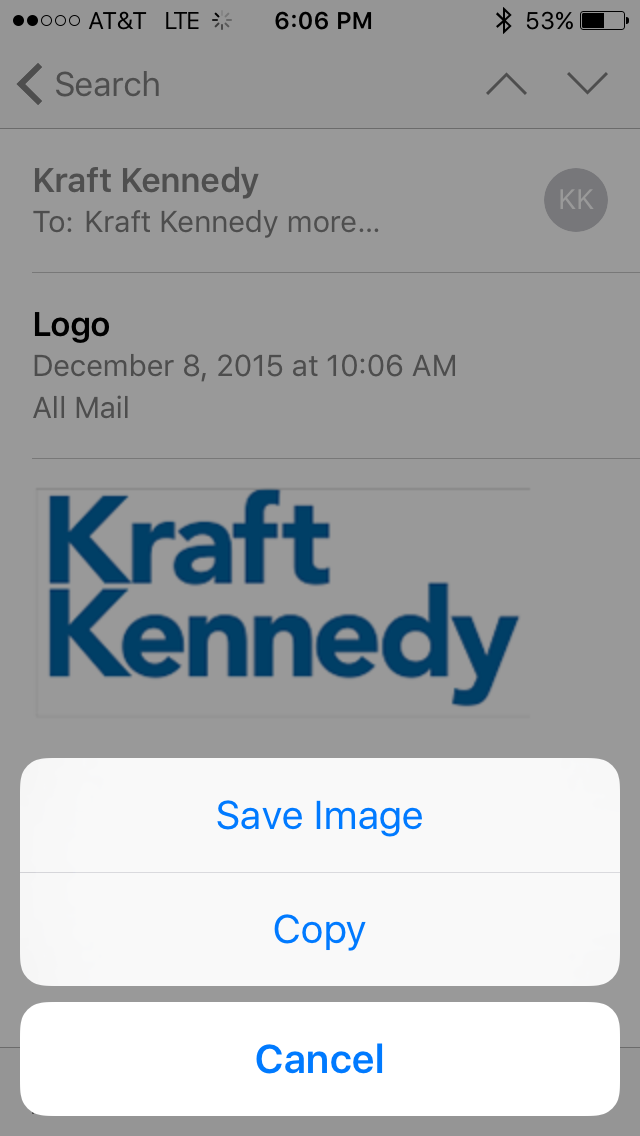how to put email signature on iphone