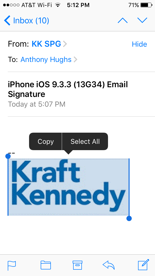Updated: How to Add an Image to Your iPhone E-mail Signature