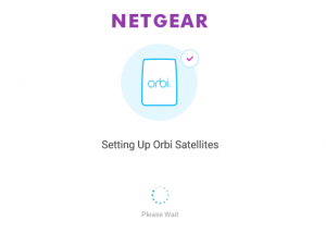 Setting Up Orbi Satellites