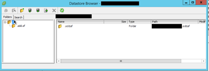 Deleting an Empty Datastore That's in Use in VMware vCenter