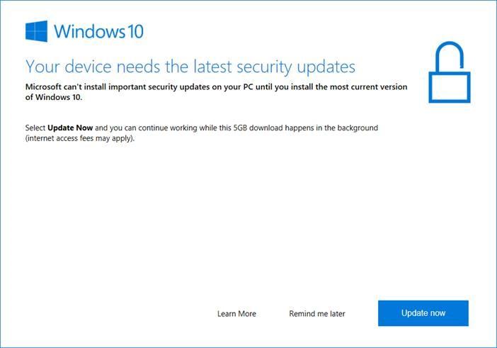 How to Fix: Windows 10 1709 Won\u0027t Install | www.infopackets.com