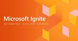 microsoft ignite 2020 virtual event