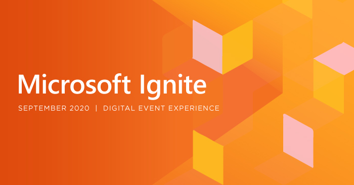 microsoft ignite 2020 virtual event