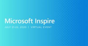 microsoft inspire 2020 virtual