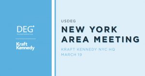 USDEG New York Area Meeting
