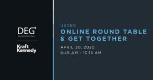 USDEG online get together