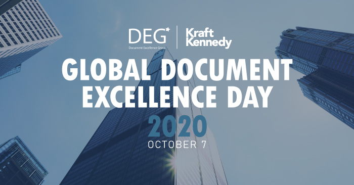 deg global document excellence day 2020