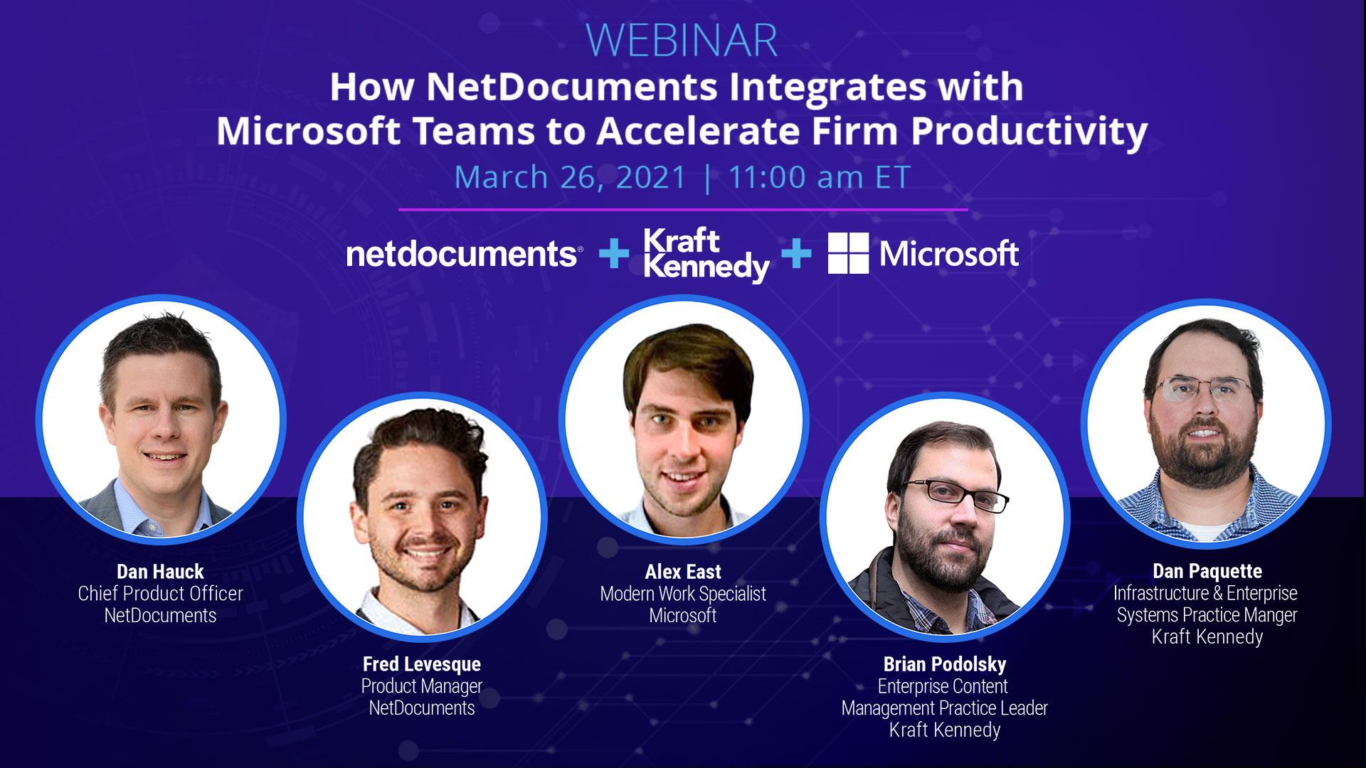 NetDocs Teams Integration