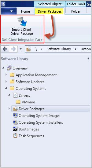 DELL Client Integration Pack (DCIP) for Microsoft System