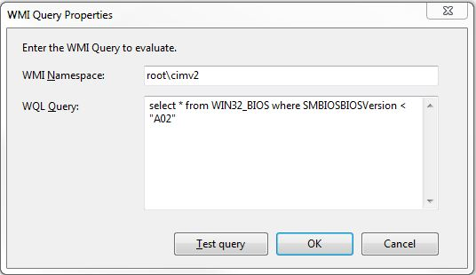 Deploying BIOS updates during SCCM Task Sequence or