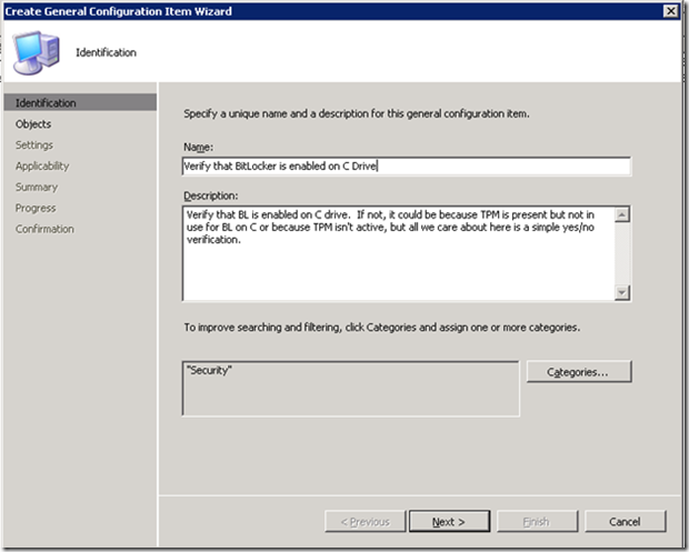 SCCM DCM Config Items Based on Programmatic Queries - Kraft