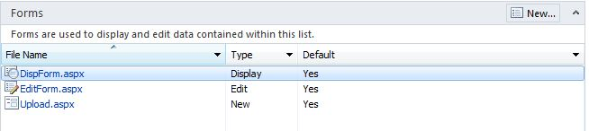 creating edit item forms for document libraries in sharepoint